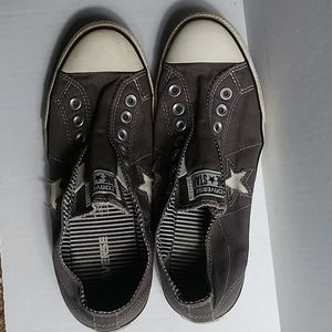 Converse One Star gray sneakers